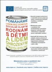 Potravinová a materiální pomoc - FEAD